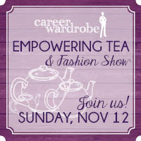 New York Celebrity Designer Speaks at Career Wardrobe Empowering Tea & Fashion Show